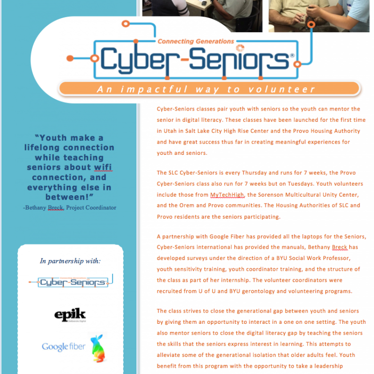 Cyber Seniors Epik