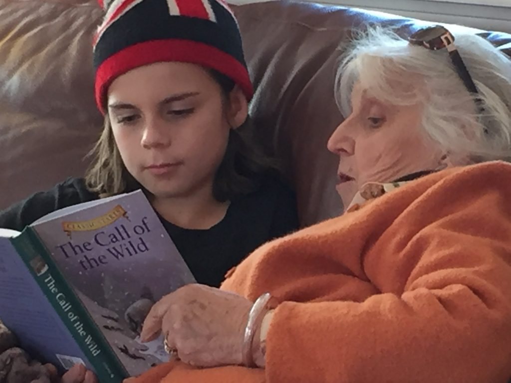 Curran Dee Reads with Grandma