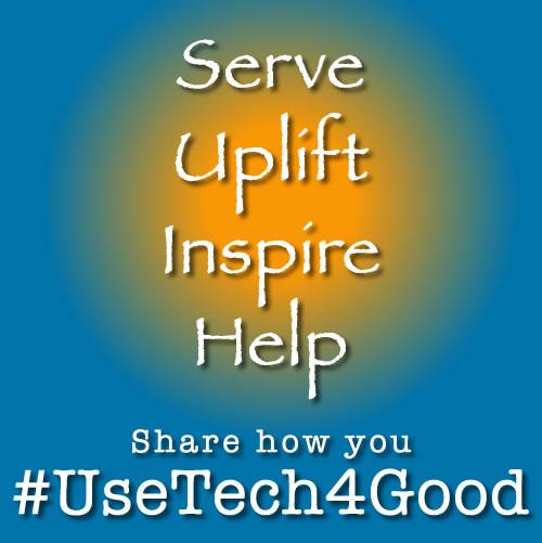#usetechforgood help uplift